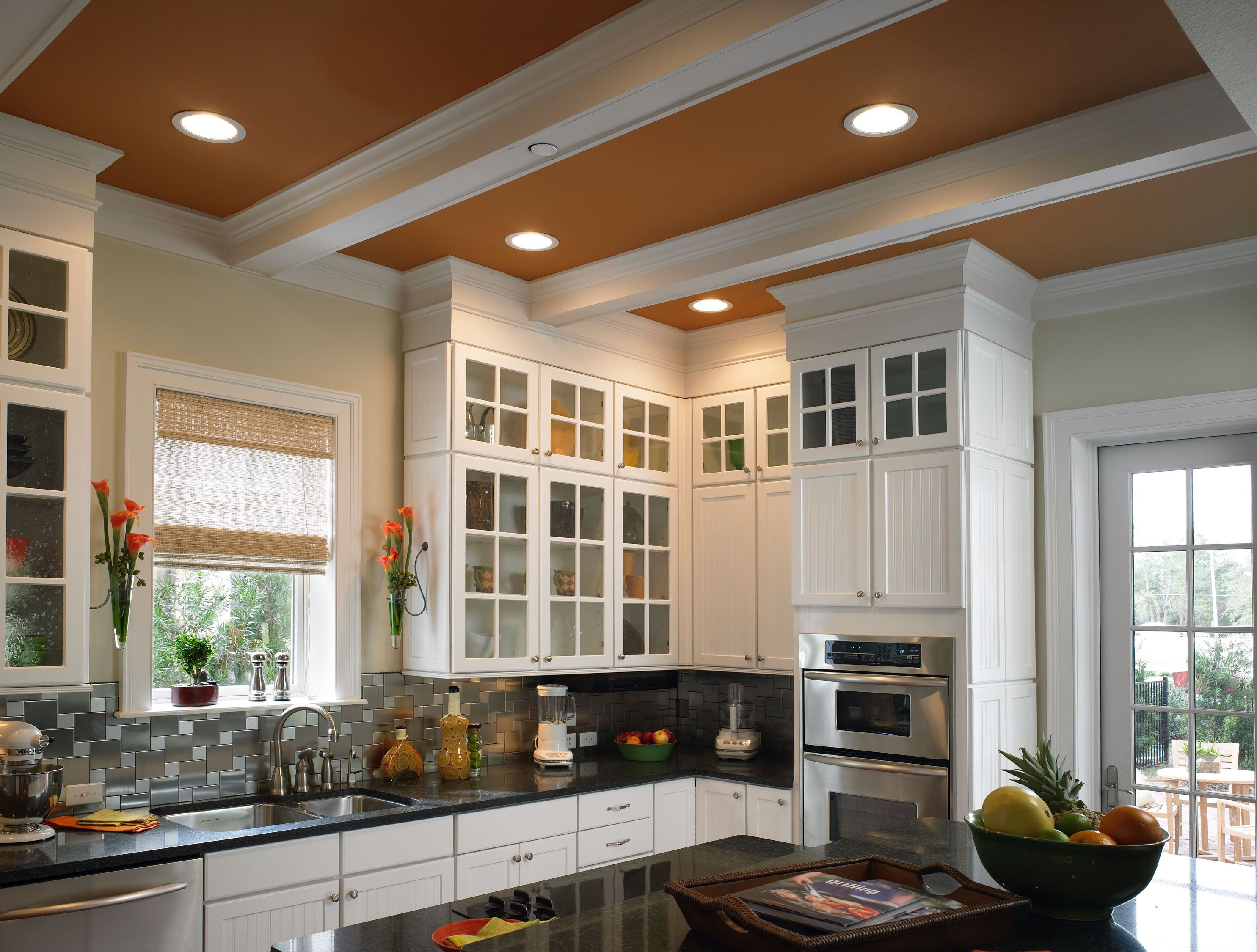 Decorative ceiling beams ideas fypon 39 s faux beams and a for Decorative beams in kitchen