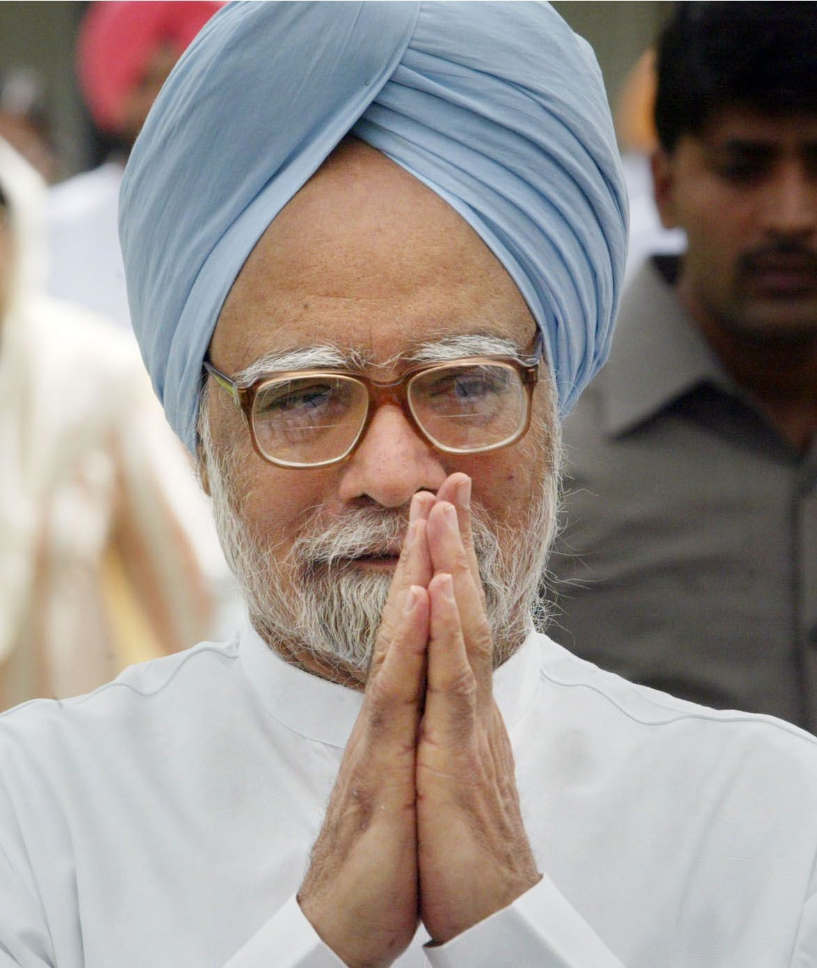 This is India's prime minister. He is 80 years old. He is