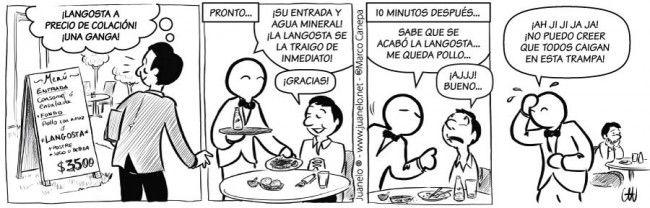 Juanelo - Menu