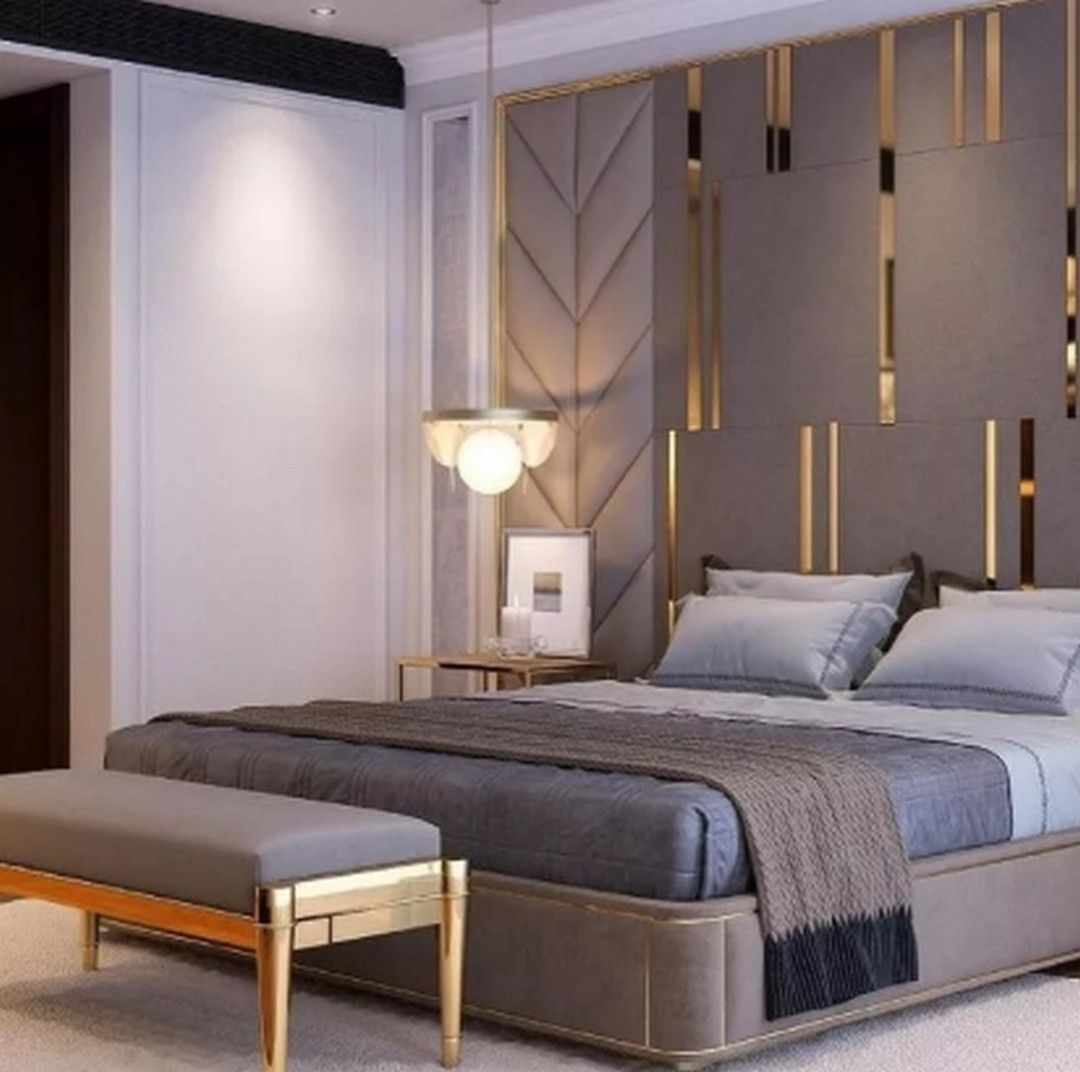 7 Advanced Master Bedroom Design Ideas in 2020 | Luxurious ...