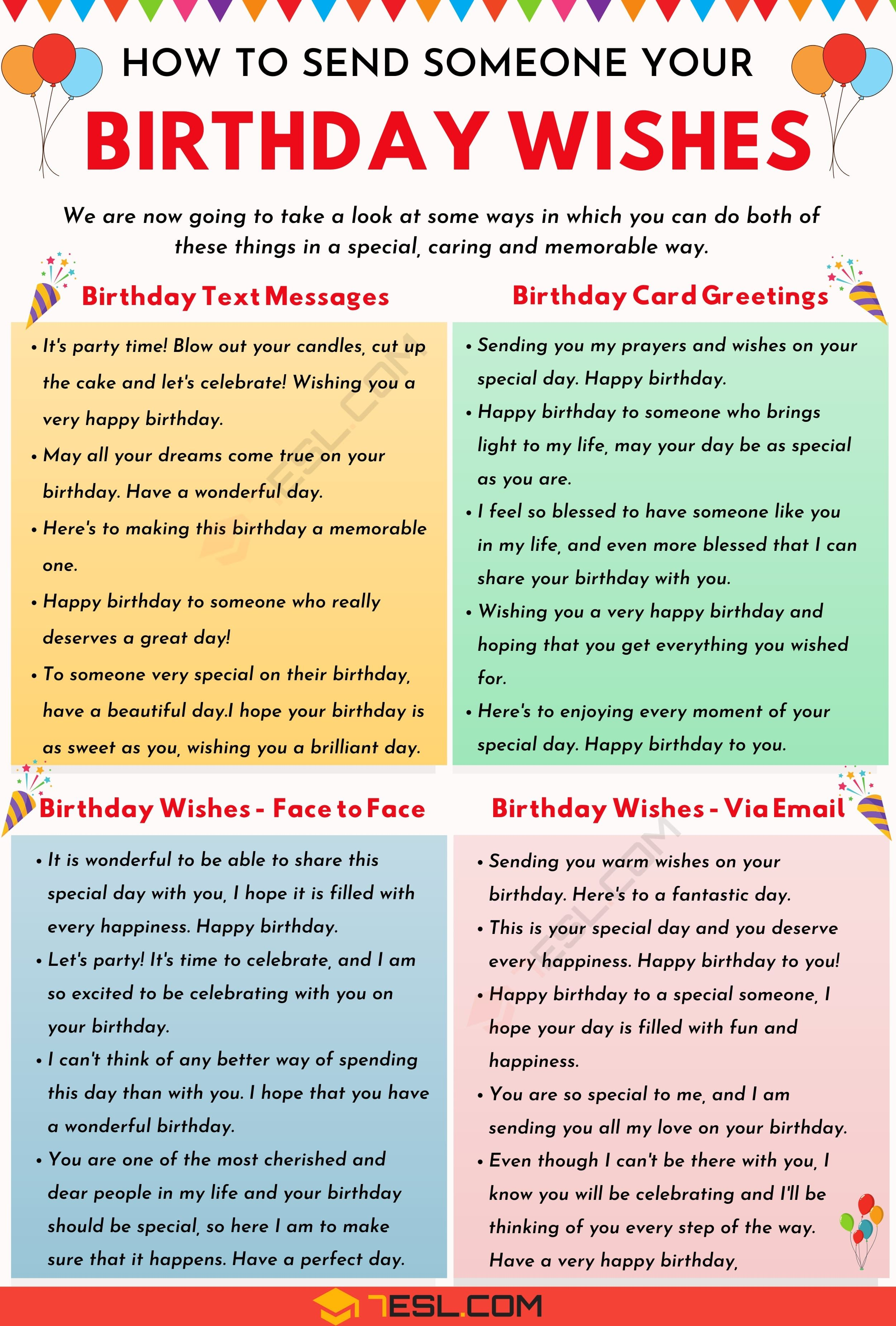 Birthday Wishes 500+ Meaningful Happy Birthday Messages