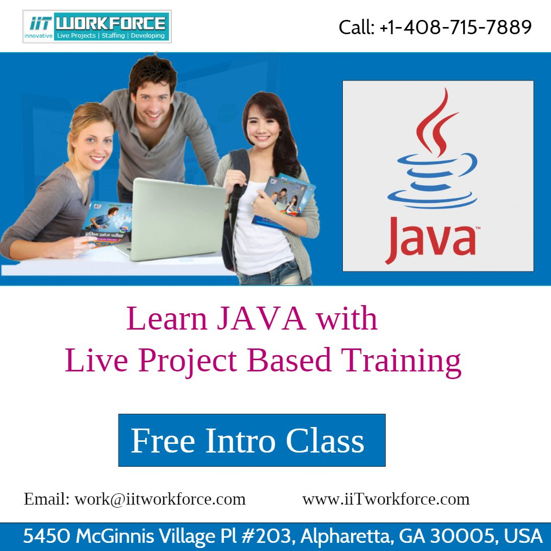 Learn java online training from iitworkforce to a