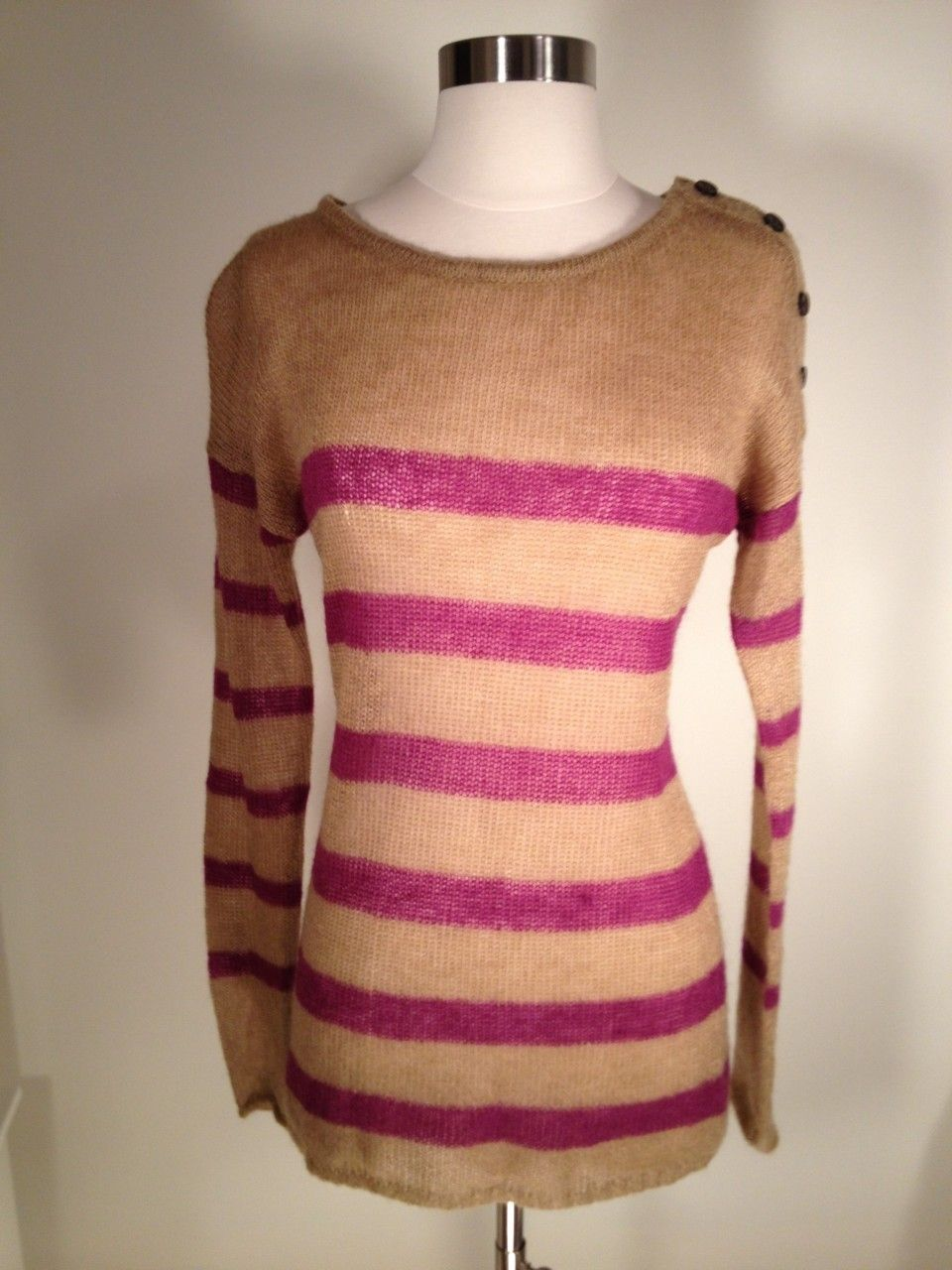 Lynnique Boutique Online Thrift Store Finds - Ann Taylor LOFT Striped Sweater, NEW, M, $24.99 (http://lynniqueboutique.com/ann-taylor-loft-striped-sweater-new-m/)  FREE SHIPPING!