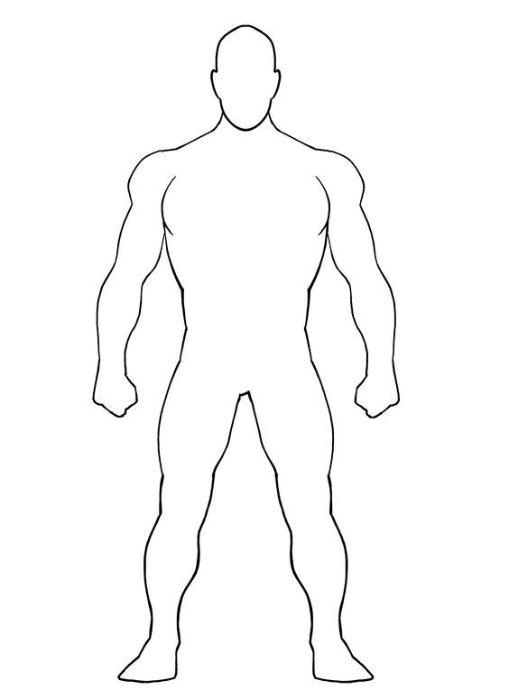 Superhero Templates Superhero Template Superhero Coloring Pages