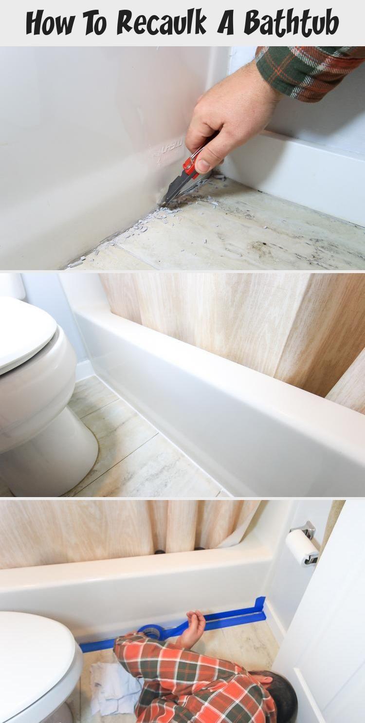 How To Recaulk A Bathtub Bathtub Decor Diy Home Decor For Teens