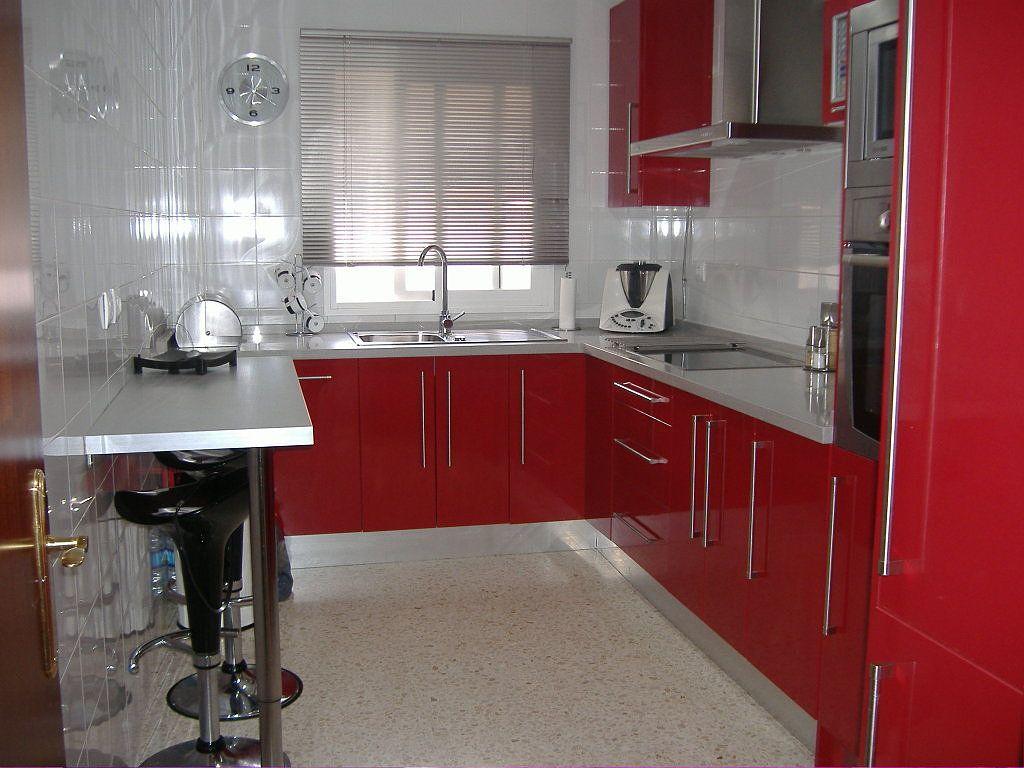 Cocinas rojas buscar con google cocinas pinterest for Cocinas integrales blancas