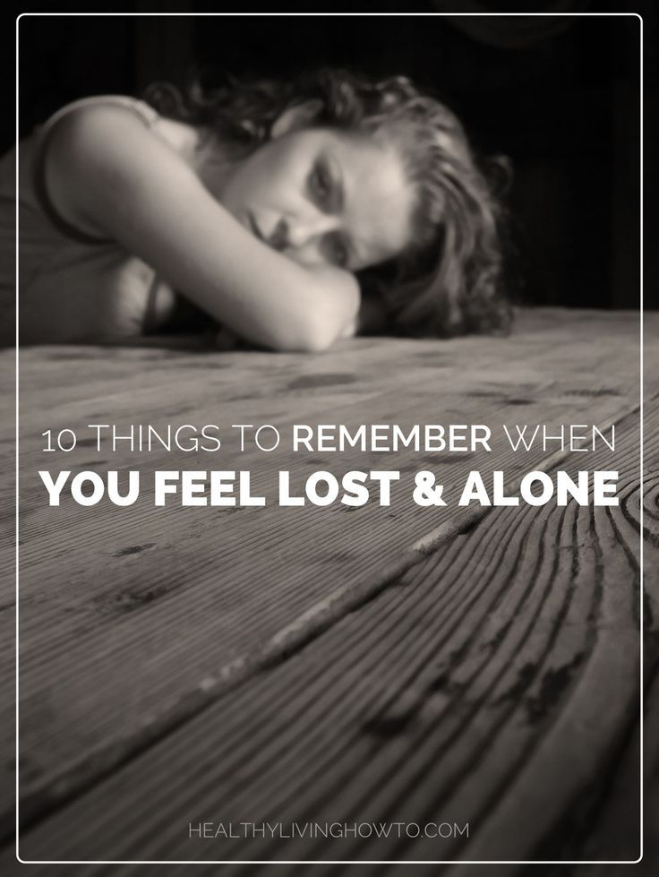 10 Things To Remember When You Feel Lost And Alone #inspire #love #life ...