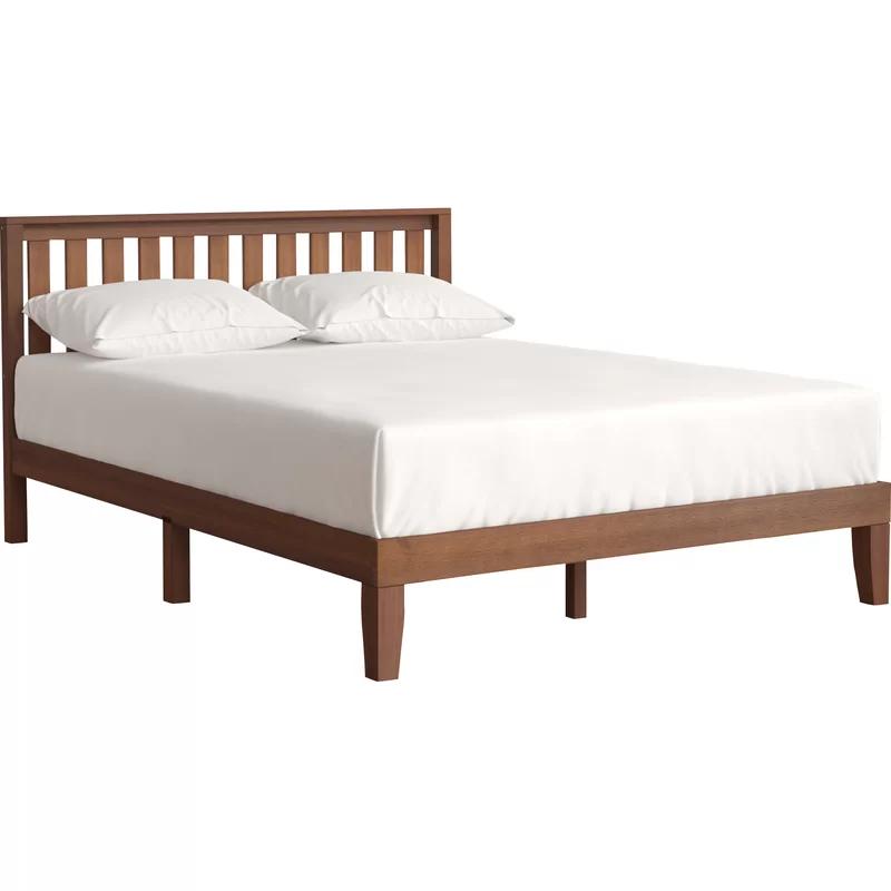 Aida Platform Bed Solid Wood Platform Bed Platform Bed Bed