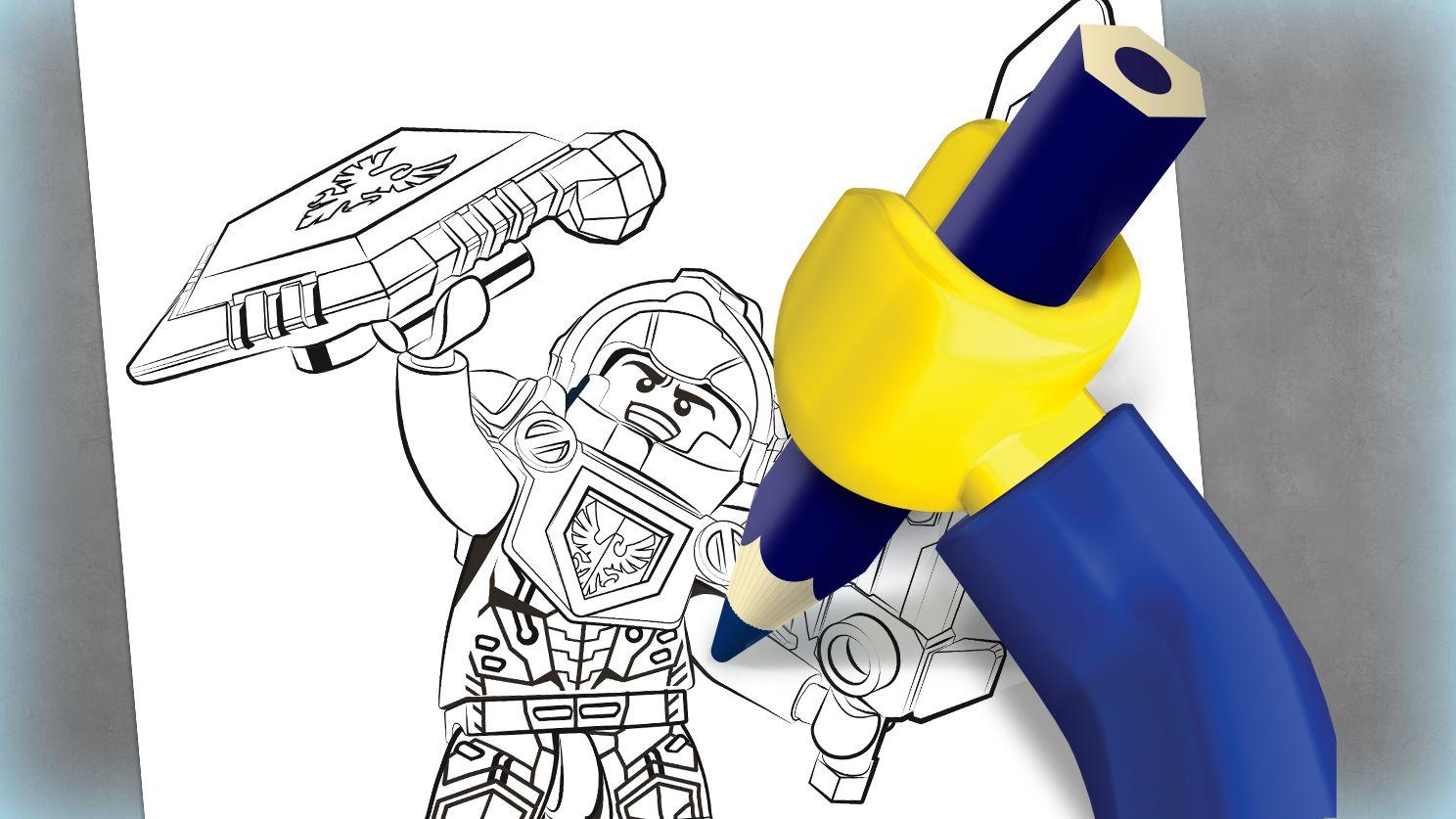 Lego Clay Coloring Sheet
