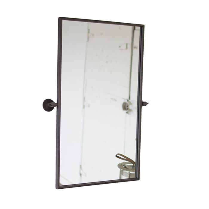 Adjustable Metal Wall Mirror Mirror Wall Bathroom Black Bathroom Mirrors Mirror Wall