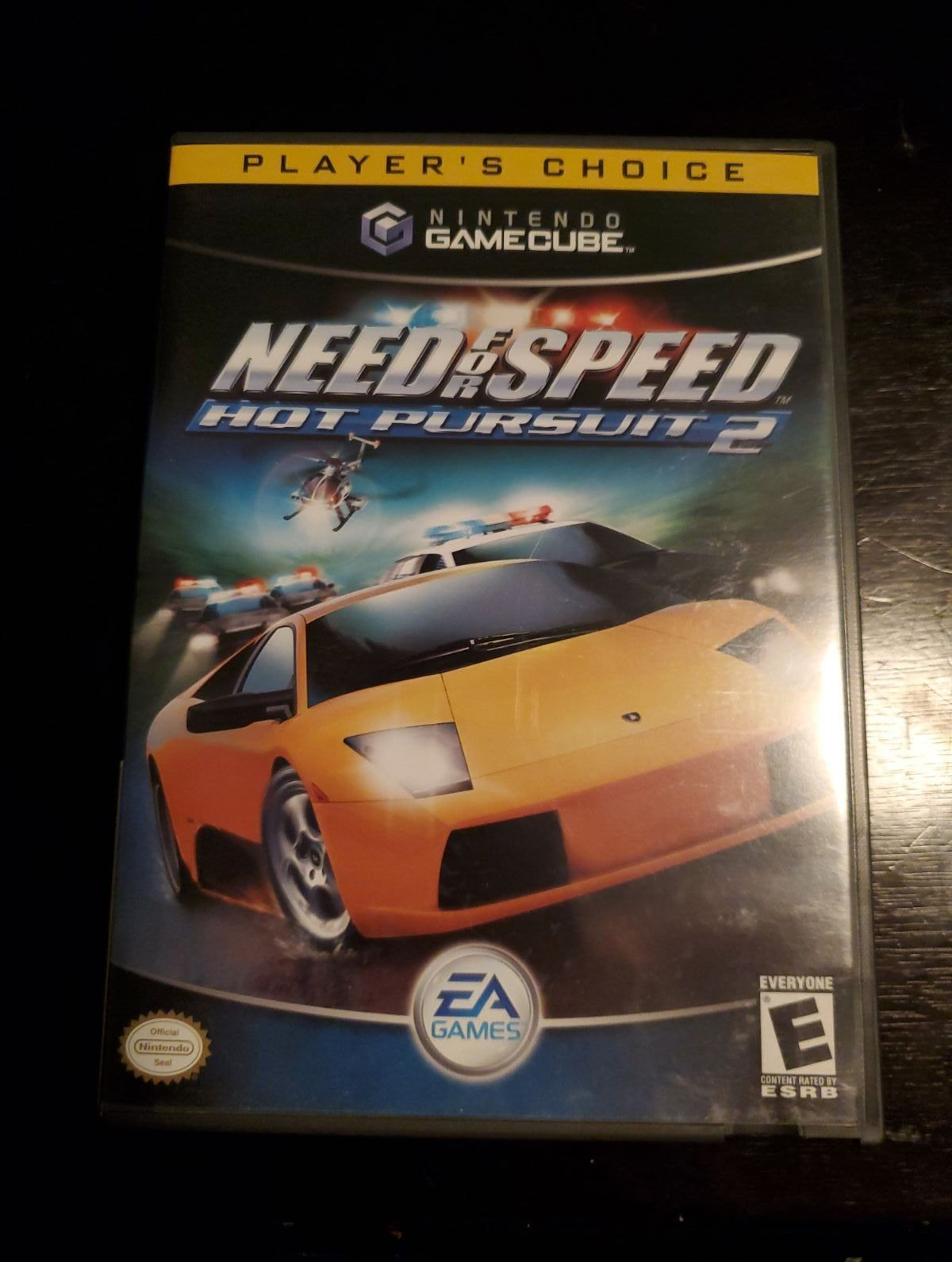Need For Speed Hot Pursuit 2 Gamecube Cleaned And Tested