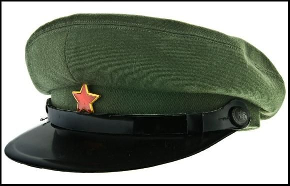 1966 Albanian People s Army officers visor cap.  a91c087a065