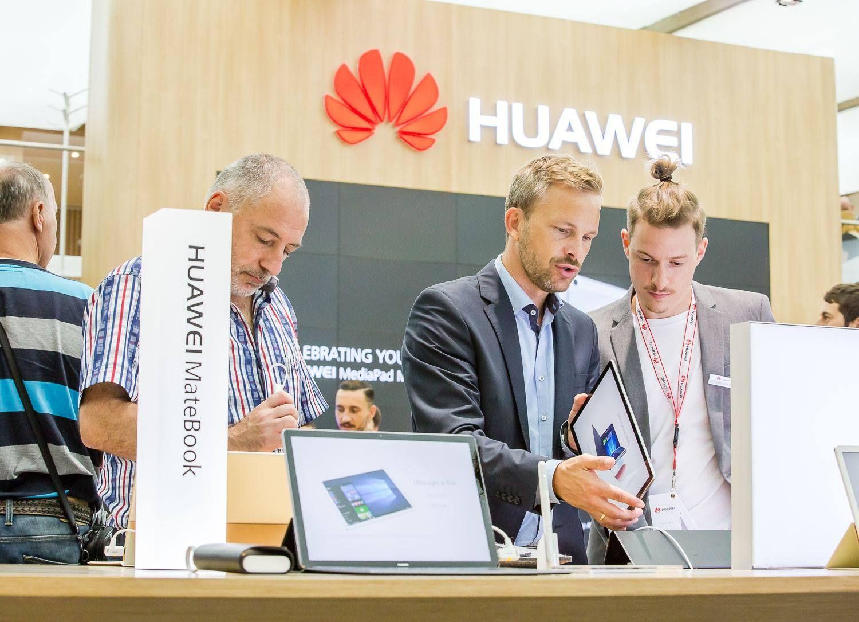 Das #HuaweiMateBook ist unglaublich dünn und beeindruckend leistungsfähig.