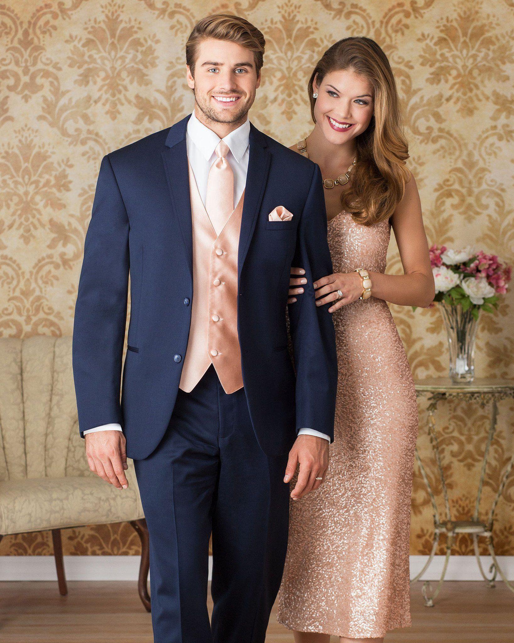 372 Michael Kors Navy Sterling Wedding Suit - Rental