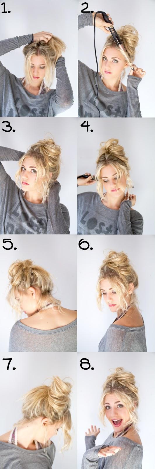 DIY Wedding Hair : DIY Messy Bun | DIY WEDDING | Pinterest | Diy ...