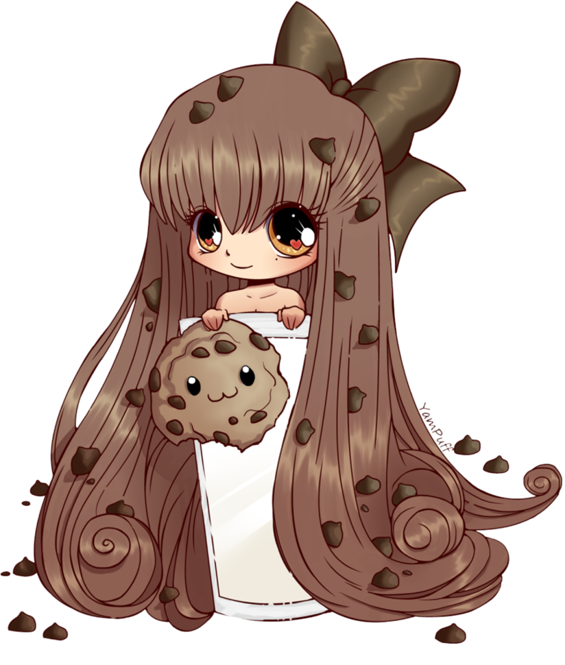 Chibi #Fan #Cookie. Ella es una super fan de las galletas , tu ...