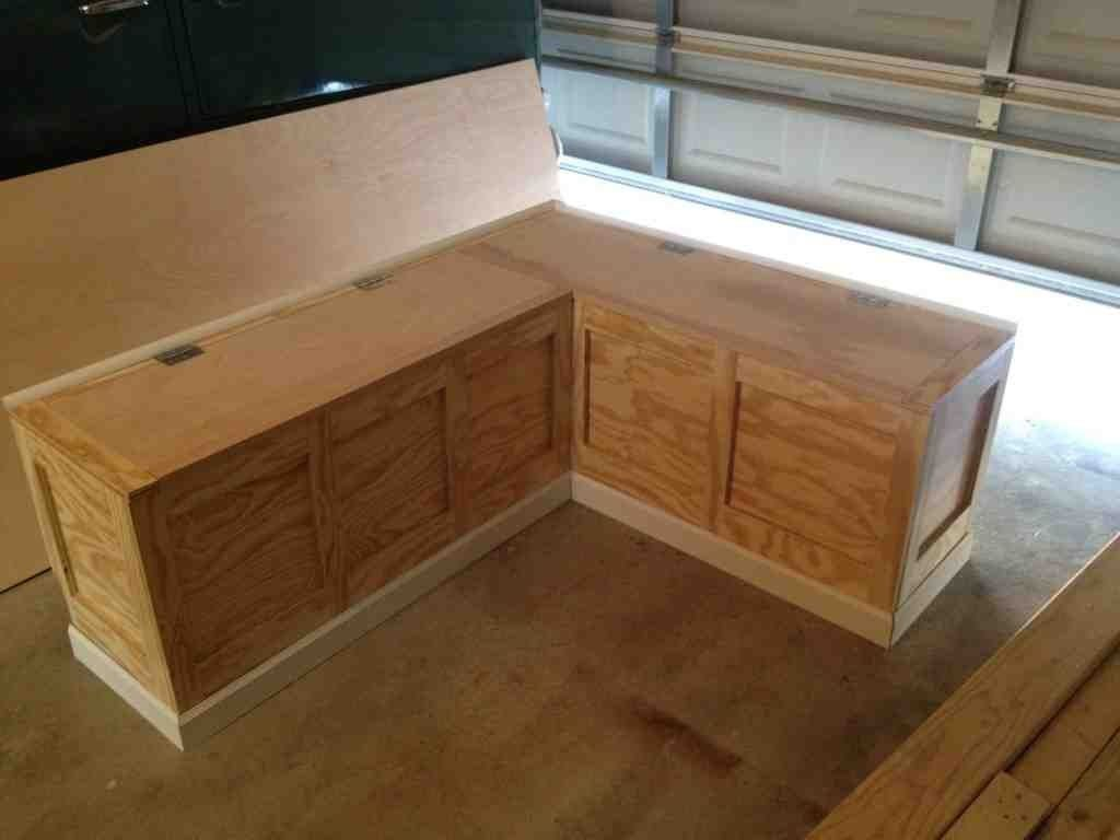 Corner bench seating with storage corner bench with