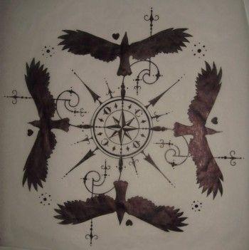 Les 25 meilleures id es de la cat gorie tatouages corbeau sur pinterest corbeau tatouage sens - Tatouage corbeau signification ...