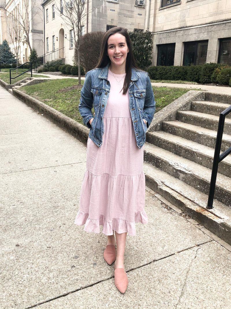 Spring Midi Dress From Target Helen Loves Midi Dress Spring Midi Dress Fashion [ 1067 x 800 Pixel ]