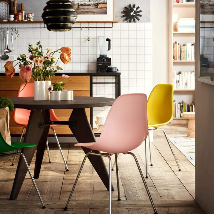 Eames Chair Der Designklassiker Esszimmer Gestalten Eames Mobel Eames