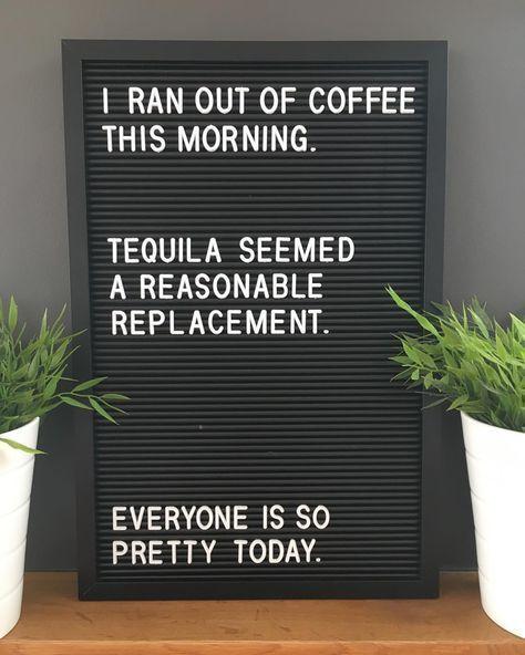#morgen # #kaffee # #morgenkaffee # #tequila # #pretty # #quote #quotesaboutcoffee