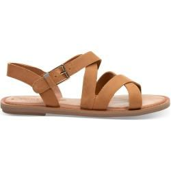 Photo of Toms Brown Leather Sicily Sandals For Women – Size 38 TomsToms