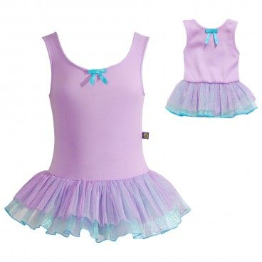 Purple Dance Set with Matching Outfit for 18 inch Play Doll