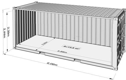 Steel Container Specifications Shipping Container Building A Container Home Container Shop