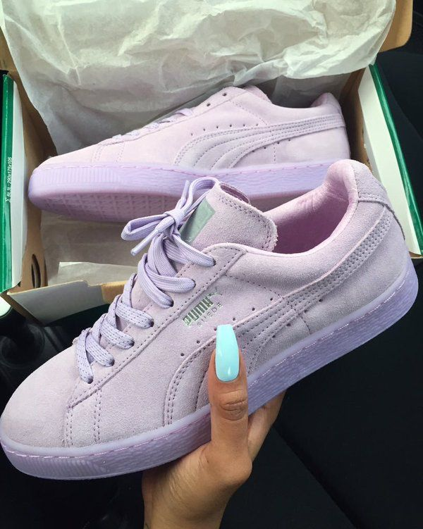 750d6b522db ... fashion shoes womens. Suede Lavender Pumas