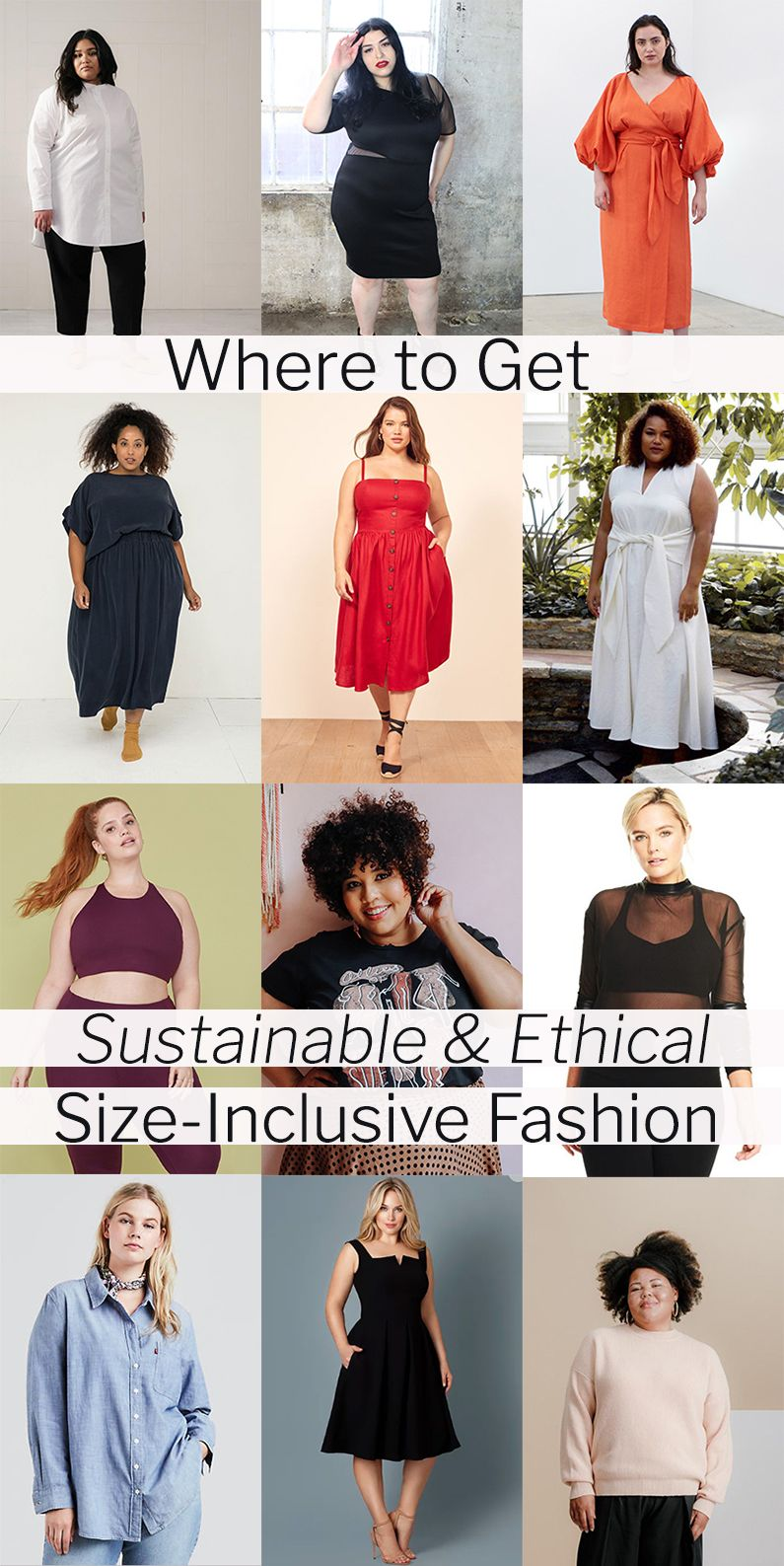 Photo of 17 Brands Doing Ethical and Sustainable Plus-Size Clothing