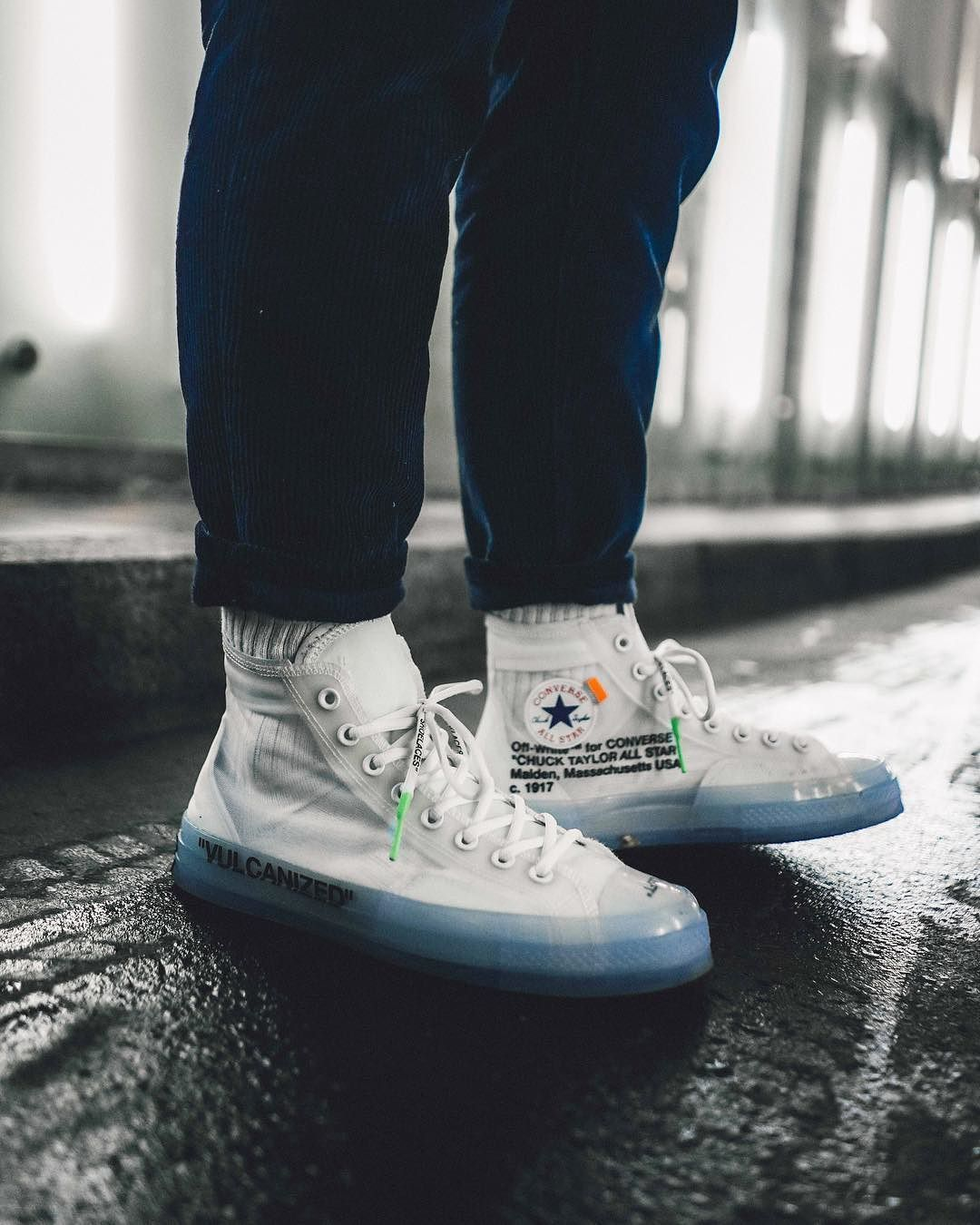 Off White X Converse Chuck Taylor Sneakers Men Fashion Sneakers Fashion Off White Shoes