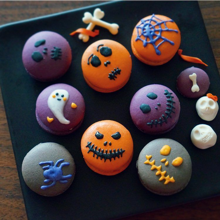 [Pro/Chef] Halloween Macarons #halloweenmacarons