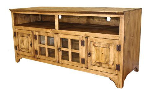 Mexican Rustic Pine Tv Stand