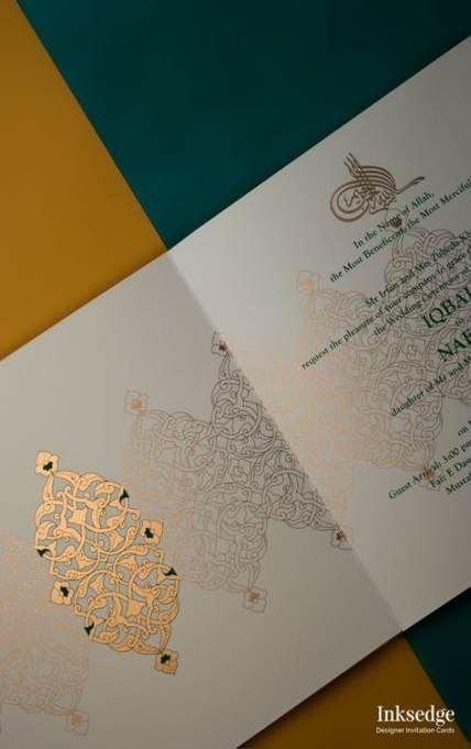 Wedding Card Design Muslim 62+ Ideas
