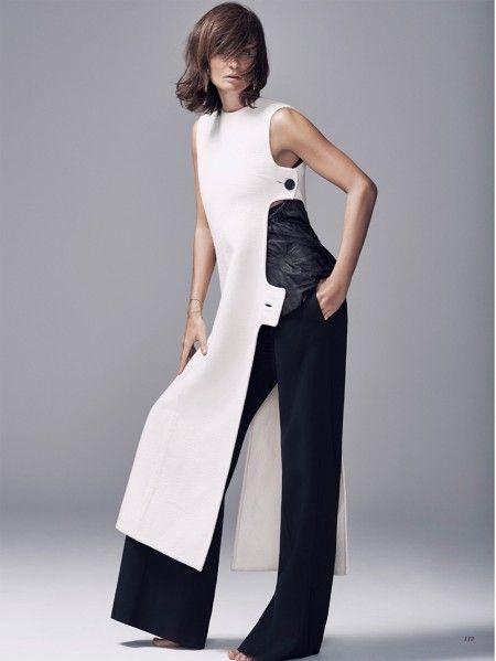Helena Christensen Looks As Elegant as Ever in BAZAAR Kazakhstan – nunuko