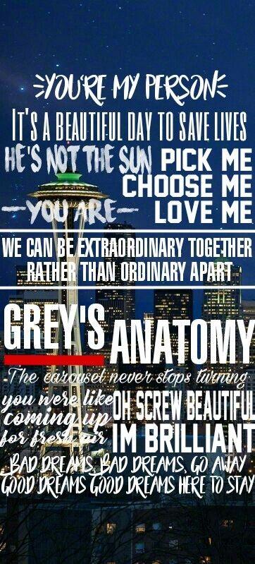 Grey's Anatomy Quotes Wallpaper : grey's, anatomy, quotes, wallpaper, Grey's, Anatomy, Frases💓🍃, Greys, Anatomy,, Funny,