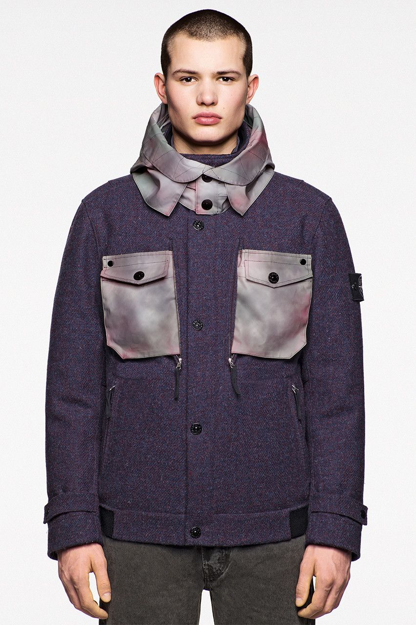 sneakers for cheap b5133 d9620 Harris Tweed x Stone Island Polymorphic Ice Collection Release Date Details  25 October Cop Purchase Buy Clothing Fashion Brand