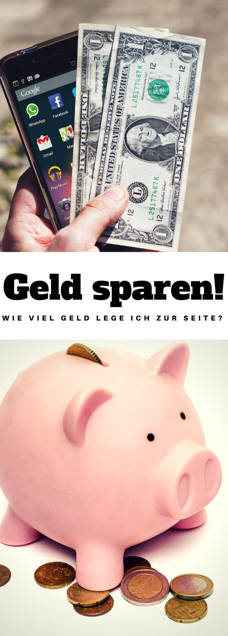 Geld Sparen - Wie viel Geld lege ich zur Seite? für später ...