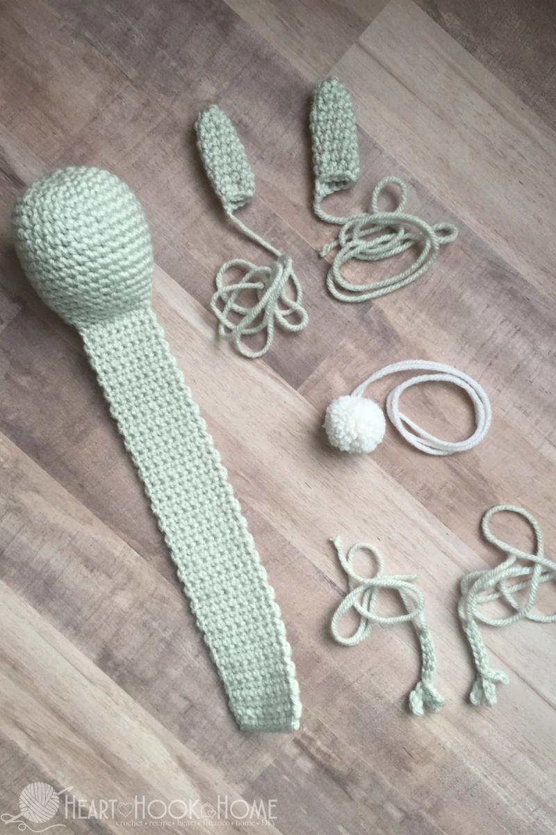 The Reading Bunny Bookmark - Free Crochet Pattern | Marcadores de ...