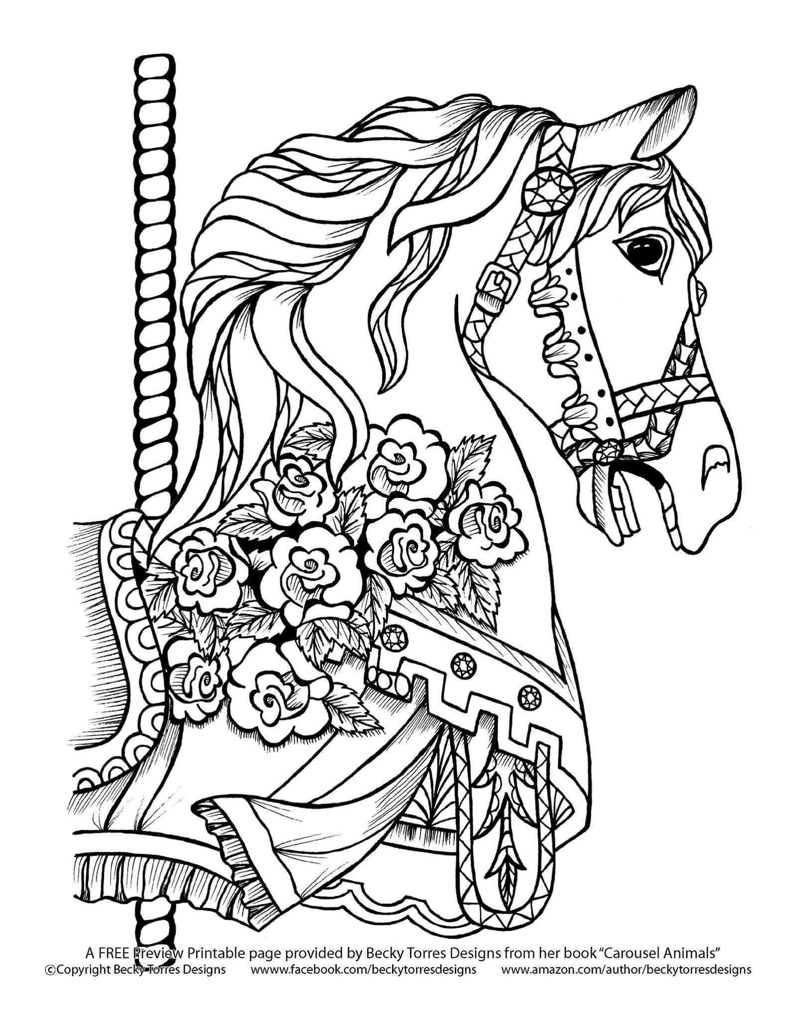 Horse Coloring Pages Horse Coloring Horse Coloring Books [ 2048 x 1592 Pixel ]