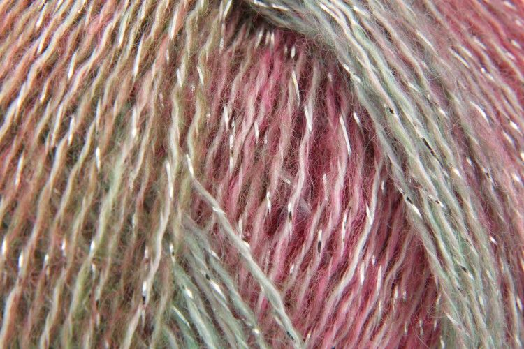 Rico Reflection Print Knitting Yarn Shade 1 Candy