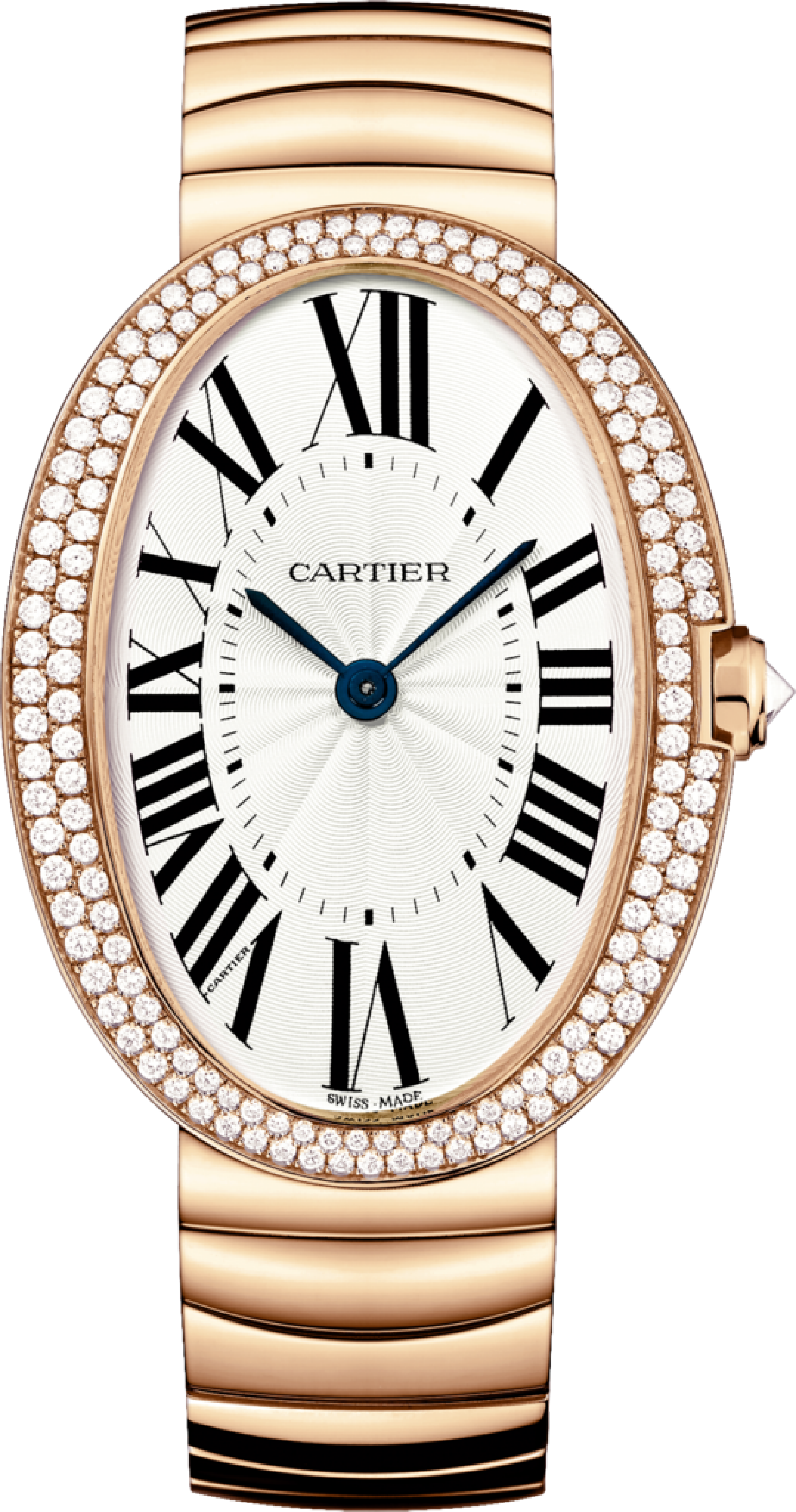 37a06ed02b #Cartier Baignoire Pink (Rose) Gold #Watch Or Rose, Cartier Watches Women