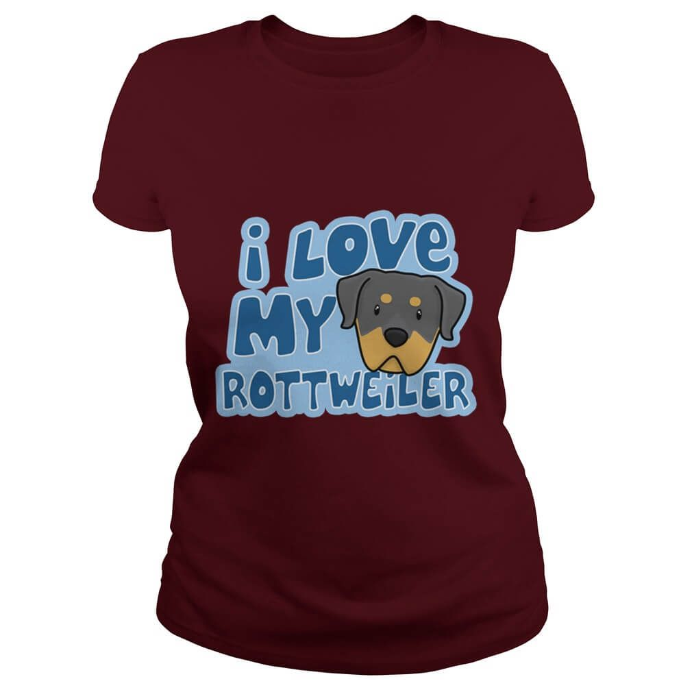 Rottweiler Tshirts –Get Yours Before its Too Late!