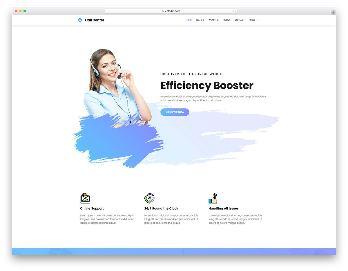 Top 31 Free Landing Pages Templates Built With Bootstrap 2019 Colorlib Business Website Templates Free Business Website Simple Website Templates