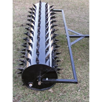 This Yard Tuff Drum Spike Aerator Has 126 Three Inch Long Spikes