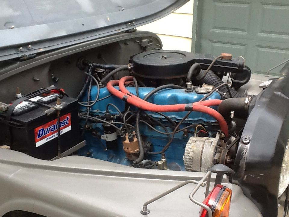 Starts right up, had to swap the alternator.