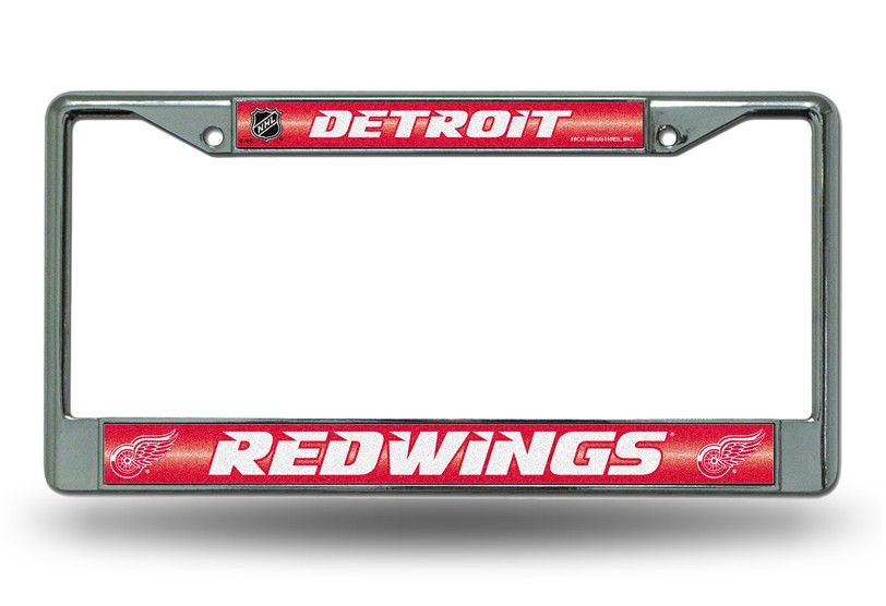 RED WINGS BLING CHROME FRAME