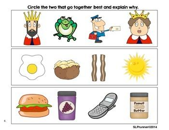 Which Go Together? Semantic Relationships | Speech Path ...