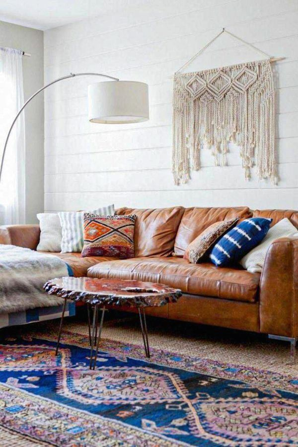 It doesn't get used as much so it doesn't have to be as comfortable. 45+ Best dark brown leather couch design ideas in 2020 ...