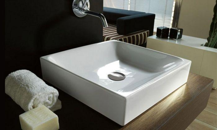Le lavabo vasque - une perle dans la salle de bain - Salle De Bain En Siporex